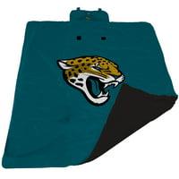 Jacksonville Jaguars 60'' x 80'' All-Weather XL Outdoor Blanket - Teal - No Size