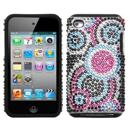 MYBAT Bubble Diamante Fusion Protector Cover for iPod touch (4th generation)