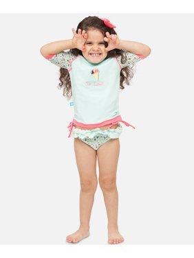 Girls Ice Cream UV Rash Vest