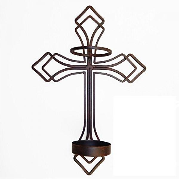 Cross Wall Sconce by Generic