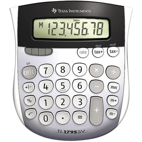 Texas Instruments Mini Desktop Calculator