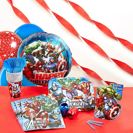 Marvel Avengers Assemble Deluxe Party Kit