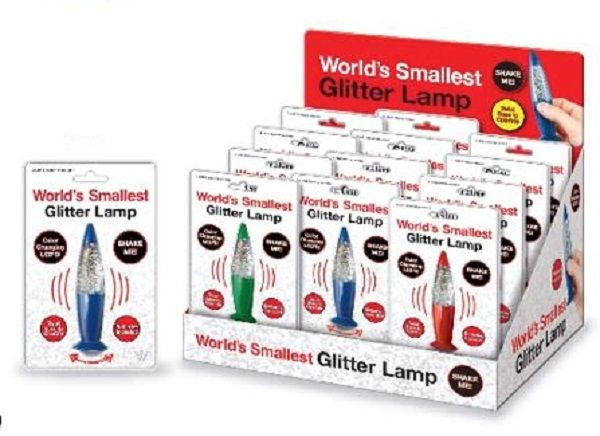 World's Smallest Glitter Lamp (One Random Color) Novelty by Westminster (4032) by Westminster