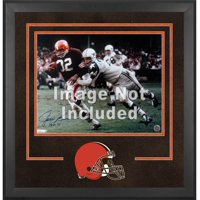 """Cleveland Browns Deluxe 16"""" x 20"""" Horizontal Photograph Frame with Team Logo"""