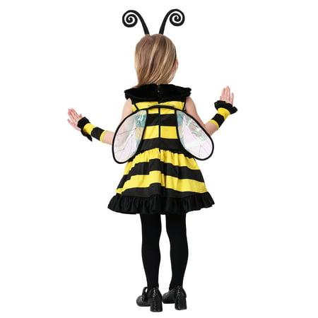 Toddler Girls Deluxe Bumble Bee Costume Walmartcom