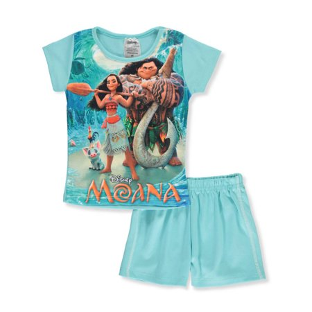Disney Moana Girls' 2-Piece Shorts Set Outfit](Disney Outfits Ideas)