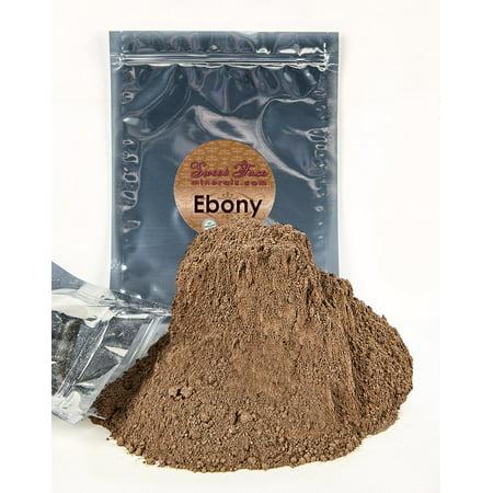 Bulk Refill Mineral Foundation (EBONY) Makeup Powder Matte Bare Skin Sheer SPF 15 Cover (12 Grams)