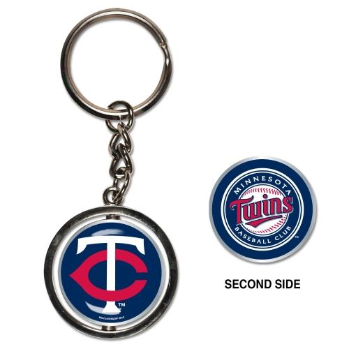 Minnesota Twins Spinner Key Ring - No Size