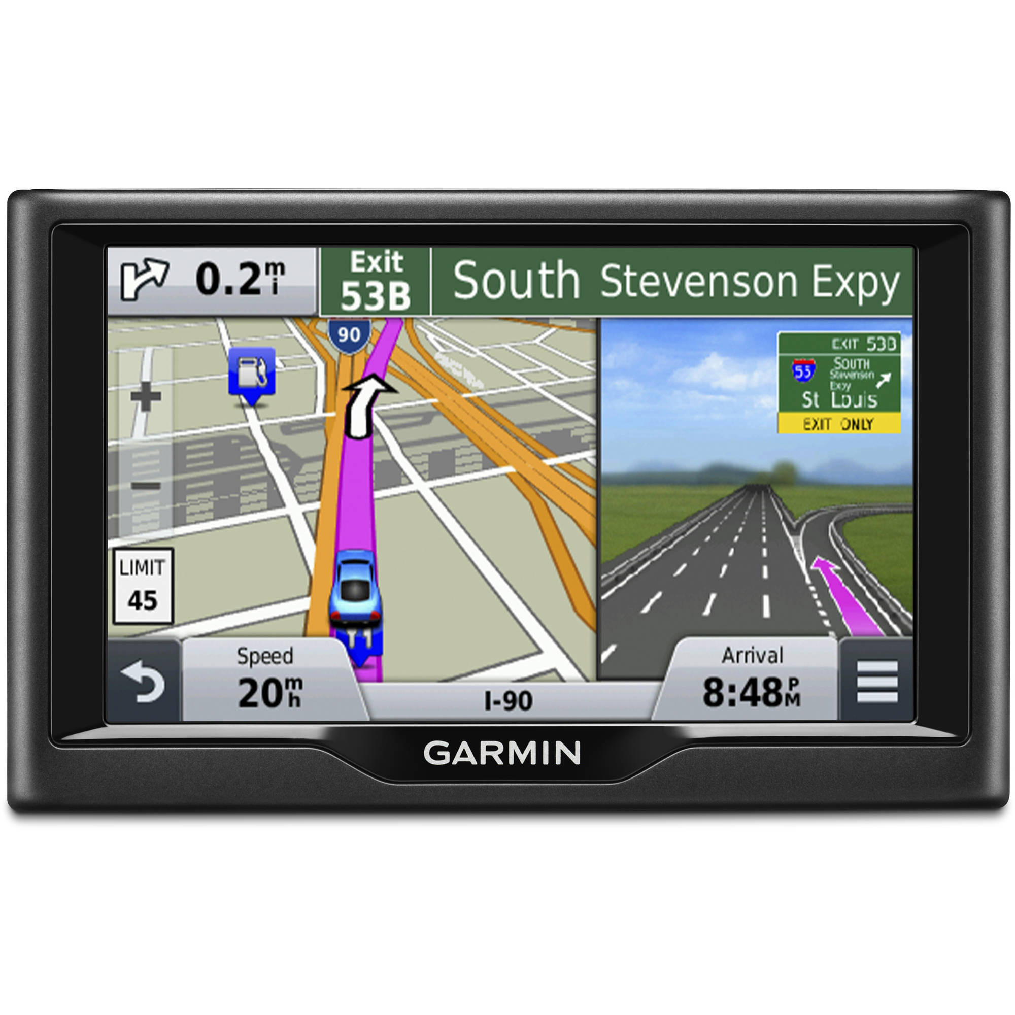 Garmin Nuvi 57 5-Inch GPS Navigator Direct Access Foursquare