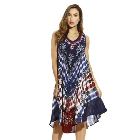 cb67f540d9f Riviera Sun - Riviera Sun Dress   Summer Dresses for Women (Red   White    Blue 5