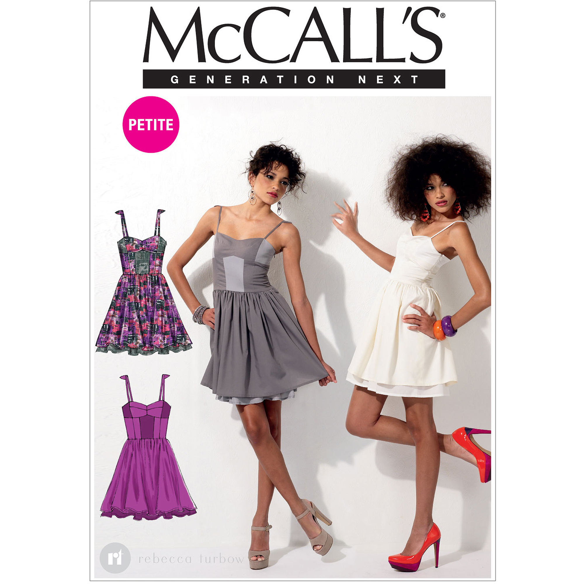 McCall's Pattern Misses' and Miss Petite Dresses, D5 (12, 14, 16, 18, 20)