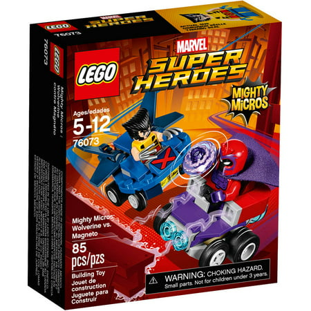 LEGO Super Heroes Mighty Micros: Wolverine vs Magneto 76073 (Lego Set With Wolverine)