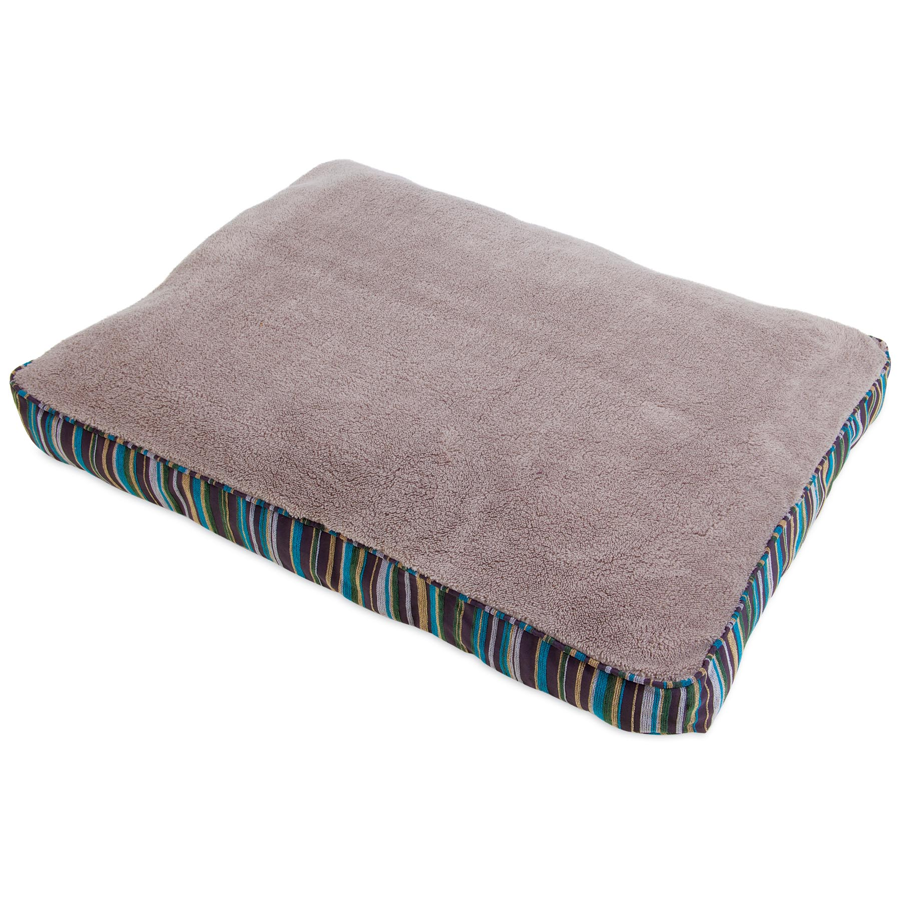 Aspen Pet Antimicrobial Dog bed with Deluxe Pillow, 27 X 36
