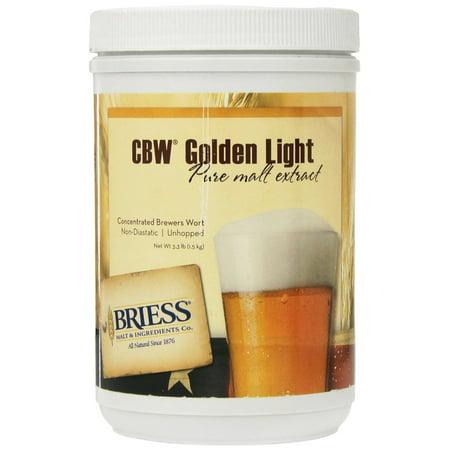 - Briess Golden Light Liquid Malt Extract - 3.3lbs