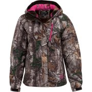 Mossy Oak Ladies' Weather Jacket with Front Covered Zipper