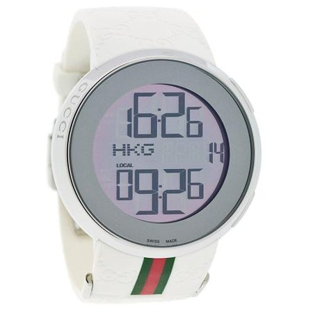 Gucci Men's Digital Watch - Silver - YA114214