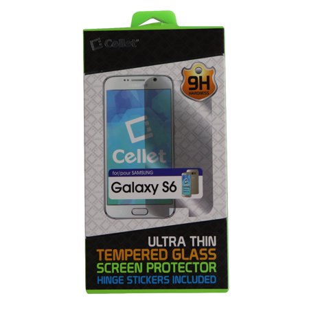 Galaxy Wholesale (Cellet Premium Tempered Glass Screen Protector for Samsung Galaxy S6)