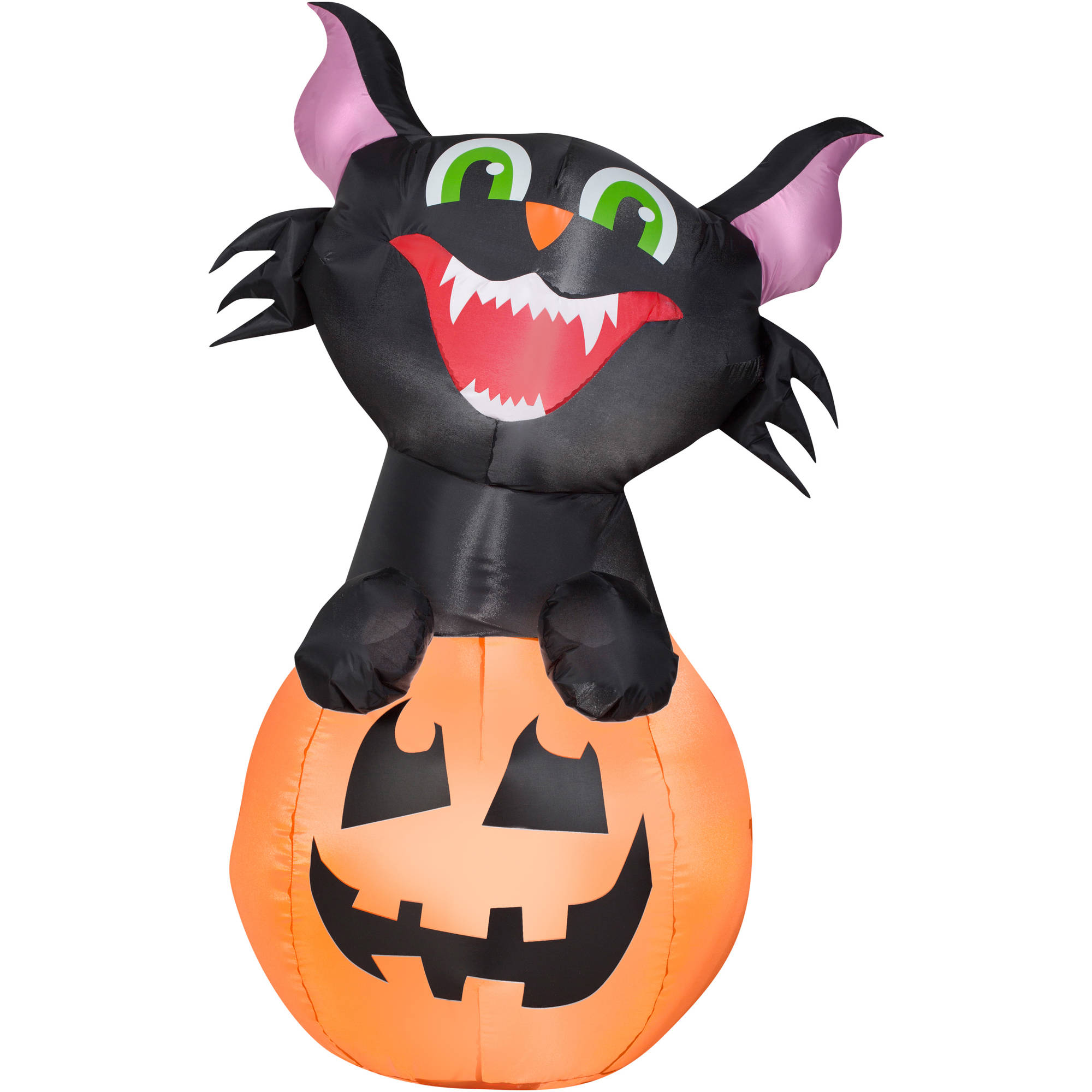 Airblown Inflatable-Pumpkin Cat 3.5ft tall by Gemmy Industries