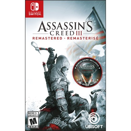 Assassin's Creed III Remastered, Ubisoft, Nintendo Switch, 887256039400