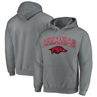 Fanatics Branded Arkansas Razorbacks Campus Pullover Hoodie - Charcoal