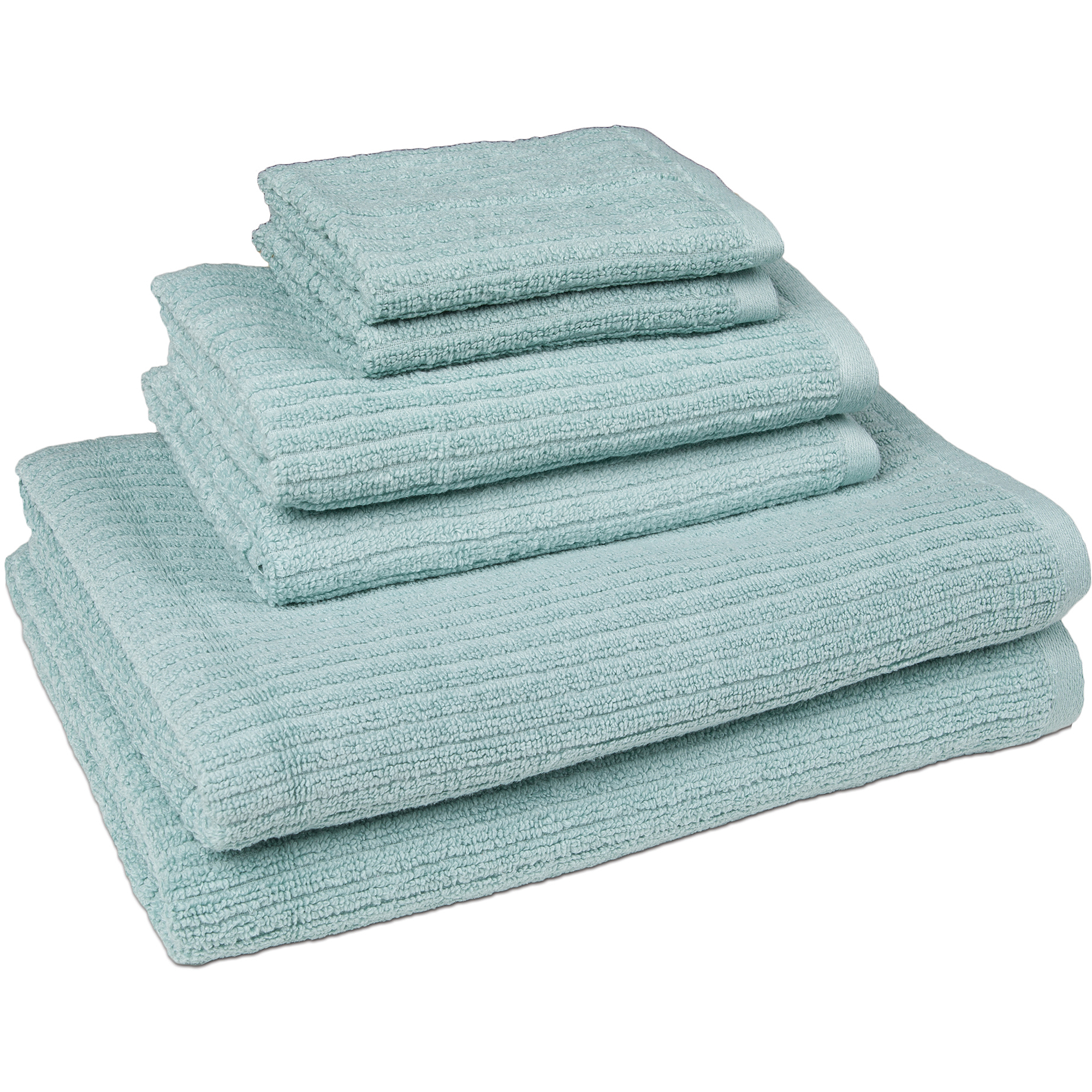 Stratford Quick Dry 6Piece Bath Towel Set Walmartcom