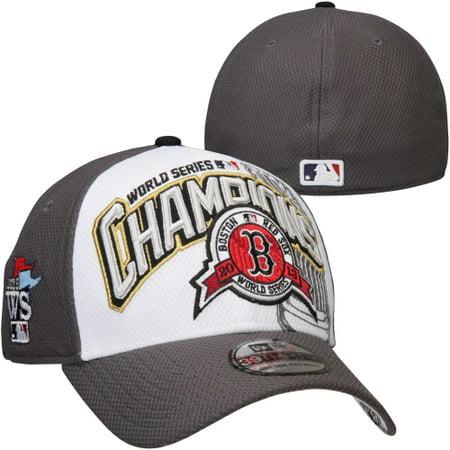 New Era Boston Red Sox 2013 MLB World Series Champions Locker Room 39THIRTY  Flex Hat - Graphite White - OSFM - Walmart.com 6f3db85cf38c
