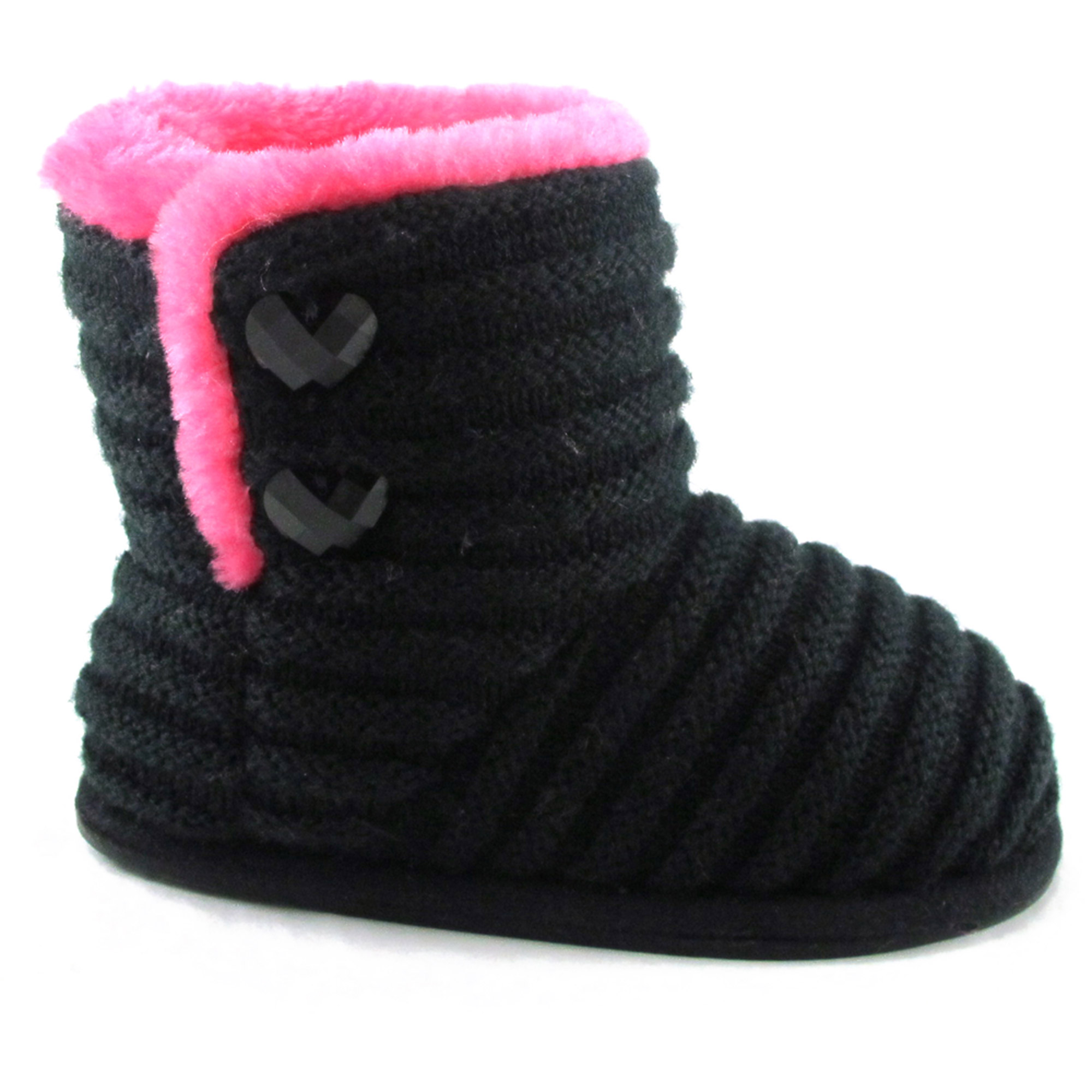 Toddler Girl's Striped Knit Boot