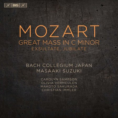 Mozart   Bach Collegium Japan   Suzuki   Mozart  Great Mass In C Minor  Sacd
