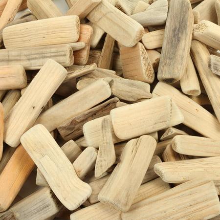 Koyal Wholesale Natural Driftwood Pieces Vase Filler Decor, 2-Pounds Bulk, Coastal Wall Art, DIY Craft Project - Halloween Supplies Wholesale
