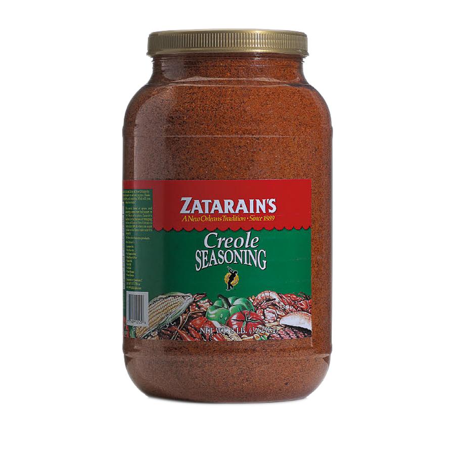 4 PACKS : Zatarains Creole Seasoning - 8 lb. container.
