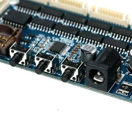 IN14 PCBA DIY Glow Tube Clock Suite Module Tube Digital Clock Kit Module - image 4 de 7
