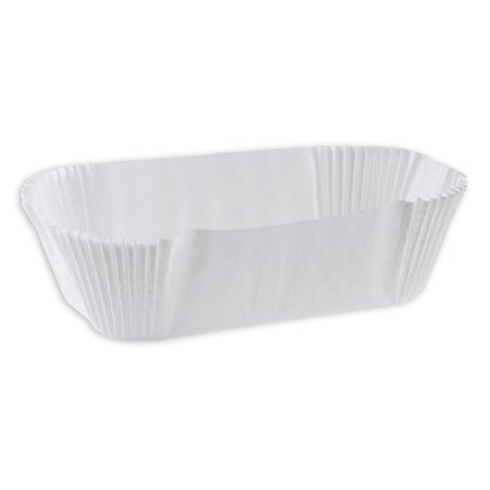 """Paper Cupcake Baking Cups (SafePro 6OB, 7x3x2-Inch White Oblong в•""""clair Paper Baking Cups, Standard Size White Cupcake Paper Liners)"""