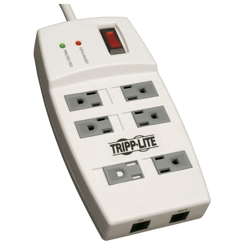 Tripp Lite Protect It! TLP66NET 6-Outlet Surge Suppressor