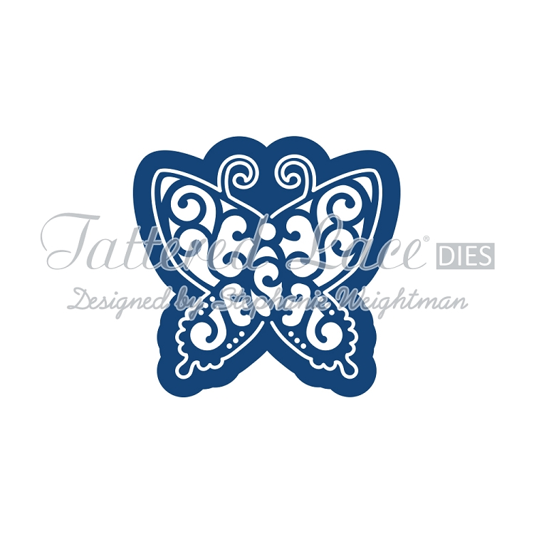 Tattered Lace Die - Kaleidoscope Butterfly