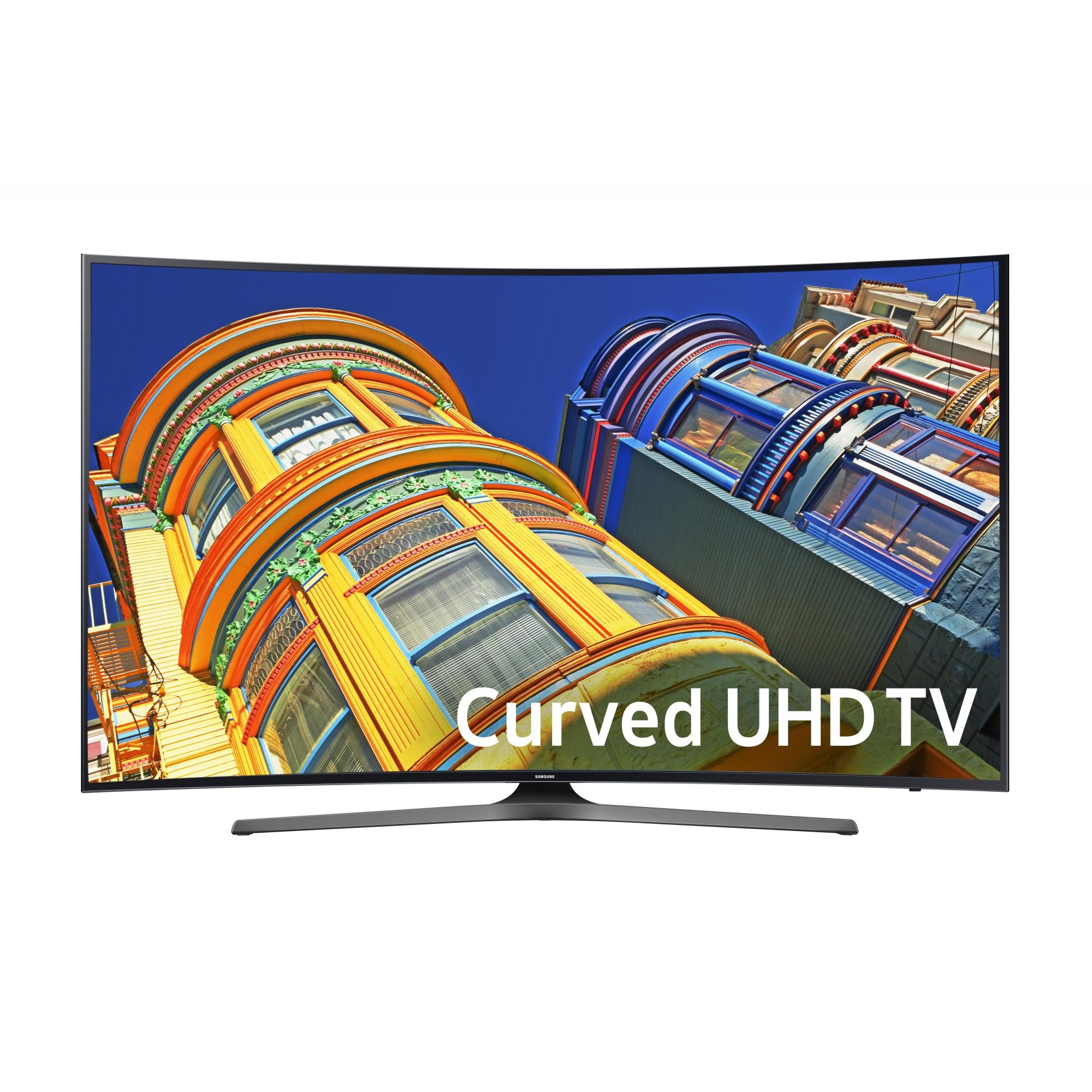 "Refurbished Samsung 55"" Class Curved 4K (2160P) Smart LED TV (UN55KU6500FXZA)"