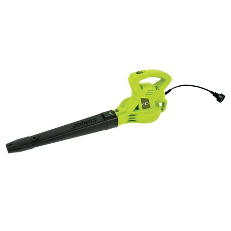 Sun Joe SBJ601E 2-Speed Electric Blower | 215 MPH | 10 Amp (Green)