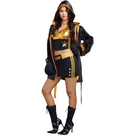 World Champion Women's Adult Halloween Costume - No Effort Halloween