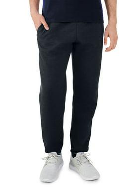 Fruit of the Loom Men's and Big Men's Eversoft Fleece Elastic Bottom Sweatpants, up to Size 4XL