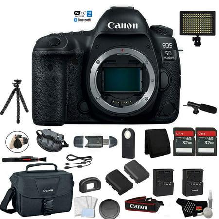 Digital Camera of Canon EOS 5D Mark IV Full Frame DSLR (Body Only)