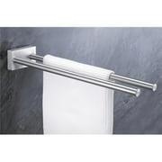 Zack 40197 FRESCO towel rack 2 bars 0.57 inch Stainless Steel