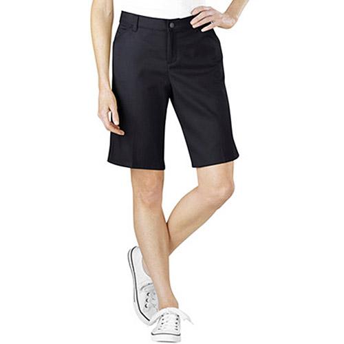 "Dickies Womens 10"" Stretch Twill Shorts"