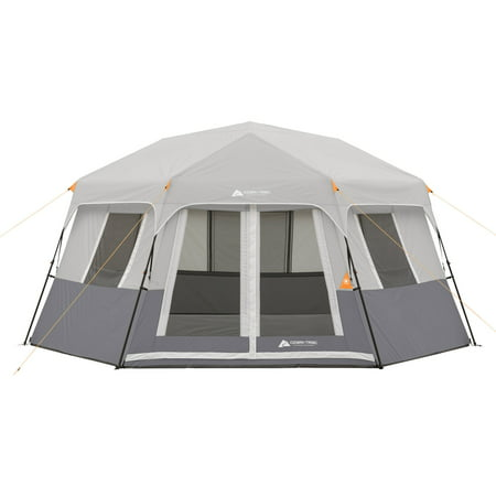 28h Cabin - Ozark Trail 8-Person Instant Hexagon Cabin Tent