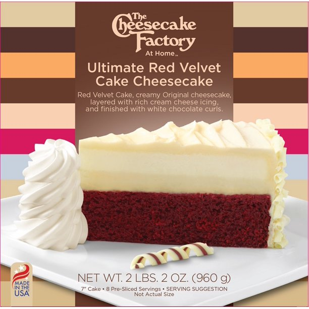Brilliant The Cheesecake Factory At Home Ultimate Red Velvet Cake Funny Birthday Cards Online Alyptdamsfinfo