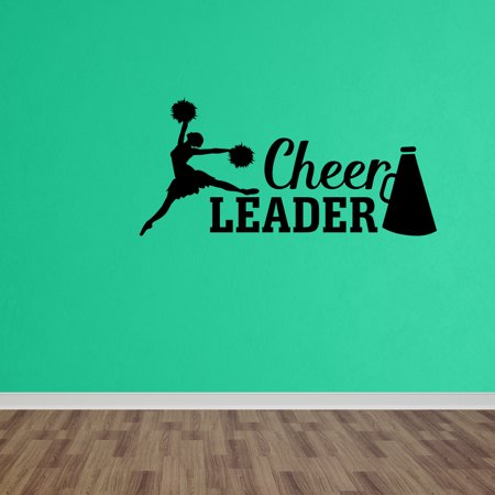 - Wall Decal Quote Cheerleader Cheer Girls Room Vinyl Wall Sticker Decor Sticker DP326