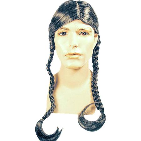 Morris Costumes LW173BN Willie Nelson Bargain Brown Wig Costume