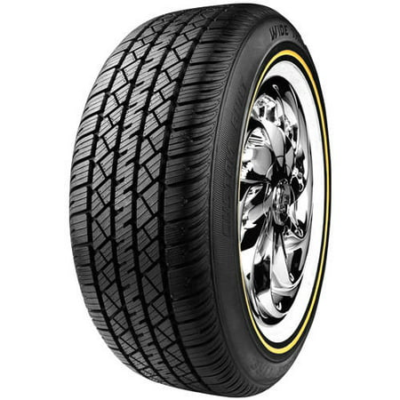 Cheng Shin Wall Tire (Vogue Custom Built Radial VIII 215/70R15 98 T Tires )