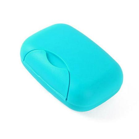 Plastic Travel Soap Dish (Travel Soap Dish Box Holder Container Shower Bathroom)