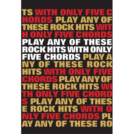 Play Any Of These Rock Hits With Only 5 Chords - eBook