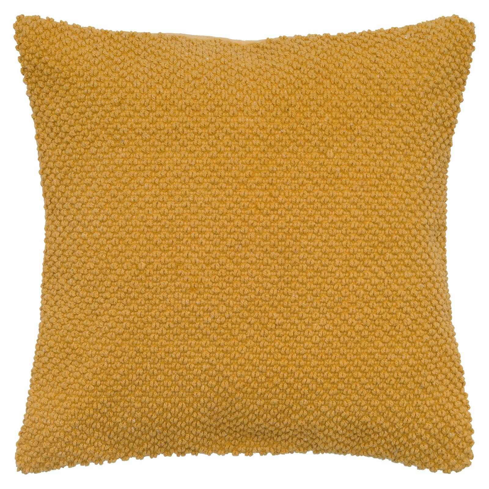 """Rizzy Home Decorative Poly Filled Throw Pillow Solid 20""""X20"""" Orange"""