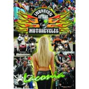 Invasion of the Motorcycles LaConia Biker Rally DVD-5 by